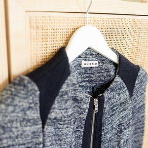 Navy Whistles Wool Jacket